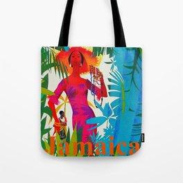 Vintage Caribbean Travel - Jamaica Tote Bag