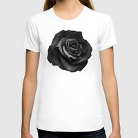 lyrics T-shirts featuring Fabric Rose by Ruben Ireland