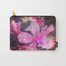 tropical galaxy flowers Carry-All Pouch