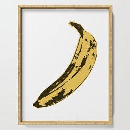 Banana Pop Art for Prints, Posters, Tshirts, Wall Art, Men, Women, Youth Serving Tray