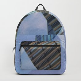 Abstract Architectural Geometric Designs Backpack