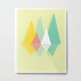 Party In The Mountains//Six Metal Print