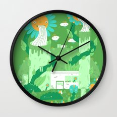 Power plant Wall Clock