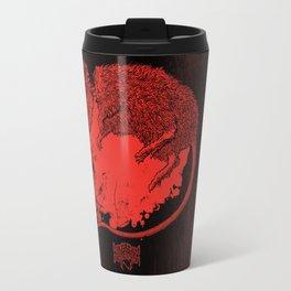 Decapitated by dishwasher III (red) Travel Mug