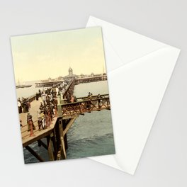 1890 Victorian Jetty in Margate Kent Stationery Cards