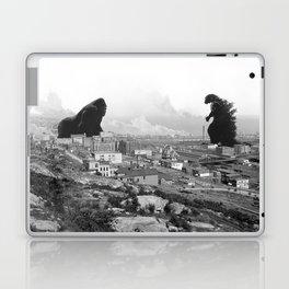 Old time Godzilla vs King Kong Reprised Laptop & iPad Skin