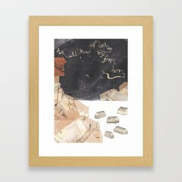 We Will Keep You, Little One, Safe From Harm Framed Art Print