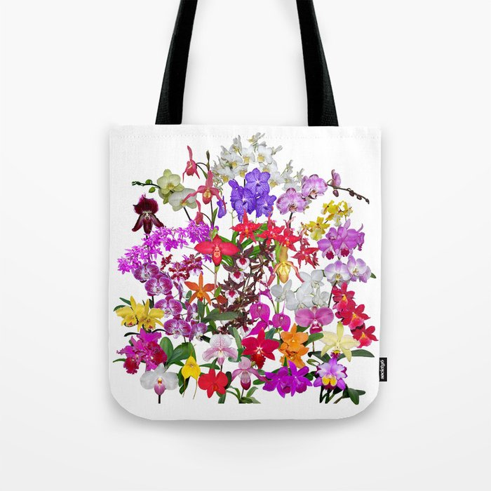 A celebration of orchids Tote Bag