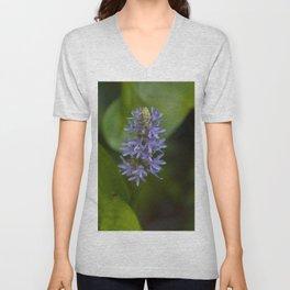Floral Print 058 Unisex V-Neck