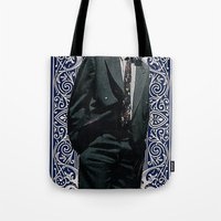 games Tote Bags featuring Games by Cameron Chapleau