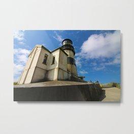Abandoned Lighthouse Metal Print