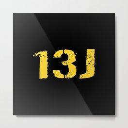 13J Fire Control Specialist Metal Print