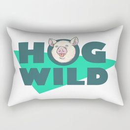 Hog Wild Rectangular Pillow