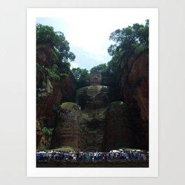 Lehan Giant Buddah Art Print