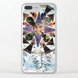 Dream Catcher Mandala Clear iPhone Case