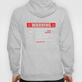 Warning. Fast to Remove Bras Sexy Gift Hoody