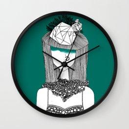 Teal Deal Wall Clock