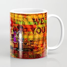 """"""" Your first name is the secret code of my heart """" Coffee Mug"""