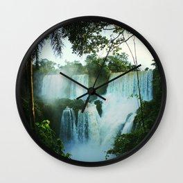 Wonderful Waterfall Wall Clock