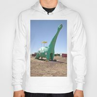 dino Hoodies featuring dino by Natalie Jeffcott