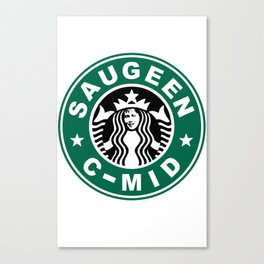 Starbucks C MID Canvas Print