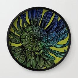 Mandala Flower #society6 Wall Clock