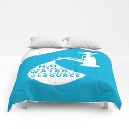 WATER CONSERVATION Comforters