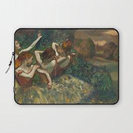 Edgar Degas - Four Dancers, 1889 Laptop Sleeve