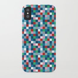 Colour Block Mini #4 iPhone Case