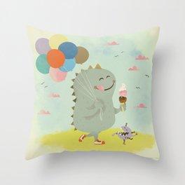 Carnival Cone Throw Pillow