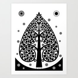 Bodhi Tree0507 Art Print