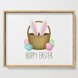 Hoppy Easter Serving Tray