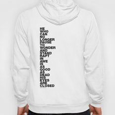 Stand Rapt In Awe quote Hoody