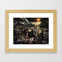 The Gleaners (after Millet) Framed Art Print
