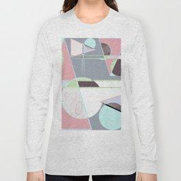 Italian 80's scandinavian style Long Sleeve T-shirt