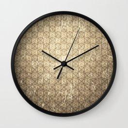 d20 Forbidden Scroll Critical Hit Pattern Wall Clock