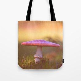 Fly agaric mushroom Tote Bag