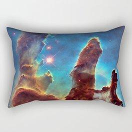 Solar System and Beyond: The Pillars of Creation Rectangular Pillow