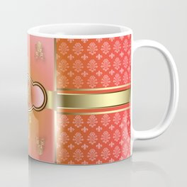 MonogrammeD Flemish A Orange Coffee Mug