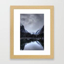 Tracy Arm's Silence Framed Art Print