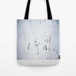 Snow #1 Tote Bag