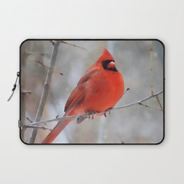 Northern Cardinal | Watercolor Laptop Sleeve