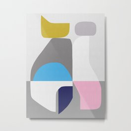 Modern and abstract art II Metal Print