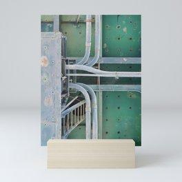 industrial pastels 2 Mini Art Print