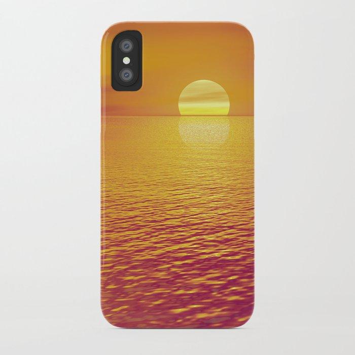 Hot Summer Love iPhone Case