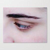 Glance Canvas Print