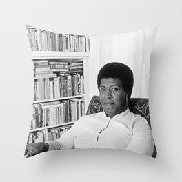 Octavia Butler - Black Culture - Black History Throw Pillow