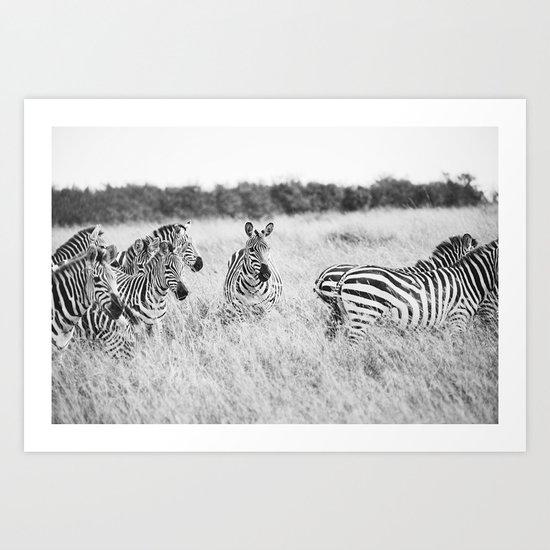 independent::kenya  Art Print