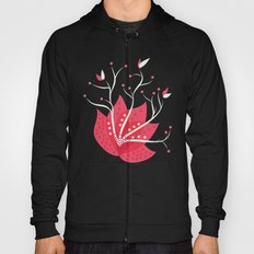 Exotic Winter Flower Hoody