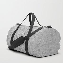 Scribbled Paper Duffle Bag
